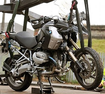 Damaged Motorbikes Scotland